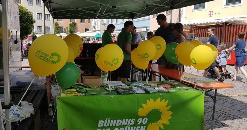 Foto vom Grünen Nationenfeststand